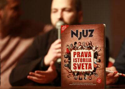 Promocija knjige PRAVA ISTORIJA SVETA,| 23.02.2017