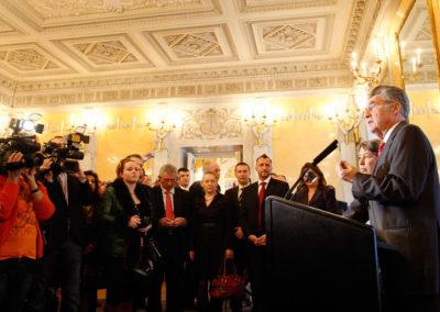 Prijem kod predsednika Austrije,  19.03.2010