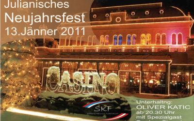 Doček Nove godine sa Oliverom Katićem13. januar 2011.Casino Baden
