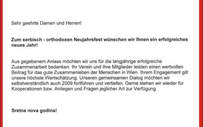 Čestitka gradonačelnika Beča