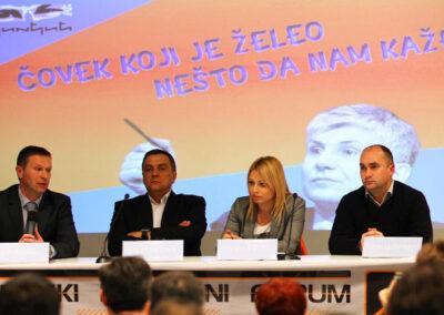 Tribina ČOVEK KOJI JE NEŠTO ŽELEO DA NAM KAŽE,| 14.03.2013