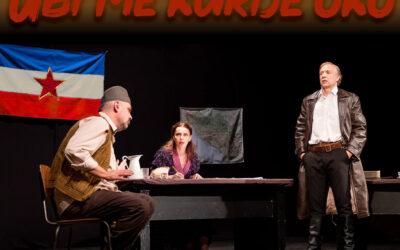 """Predstava """"Ubi me kurije oko""""27. novembar 2021.Theater Akzent"""